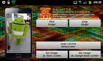Screenshot of SGS2 BootScreen Changer
