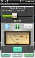 Screenshot of Audio Recorder Machine