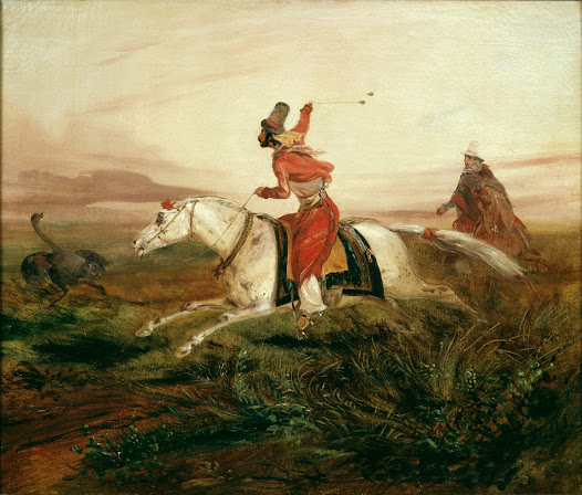Although the title draws attention to the ostrich, the main character in this work is the federal gaucho.