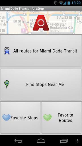 Miami Dade Transit: AnyStop