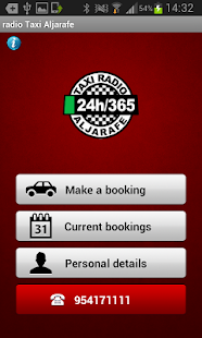 Radio Taxi Aljarafe - screenshot
