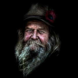 by Eddie Leach - People Portraits of Men