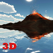 App 3D Volcano Live Wallpaper FREE apk for kindle fire