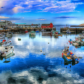 by Ty Wolf - Transportation Boats ( harbor, boat )