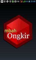 Screenshot of Mbah Ongkir
