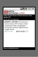 Screenshot of Media Indonesia (unofficial)