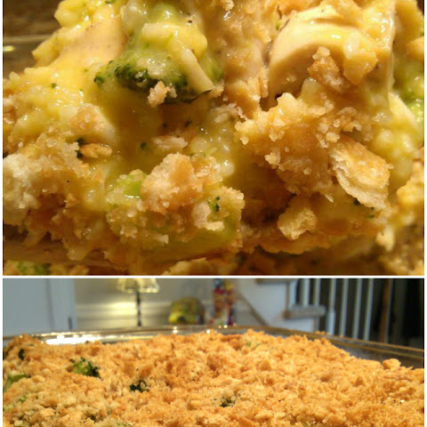 Broccoli Cheddar Chicken and Rice Casserole