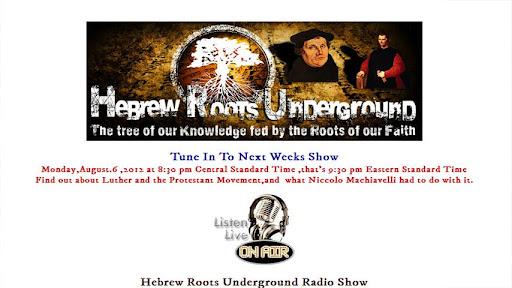 Hebrew Roots Underground