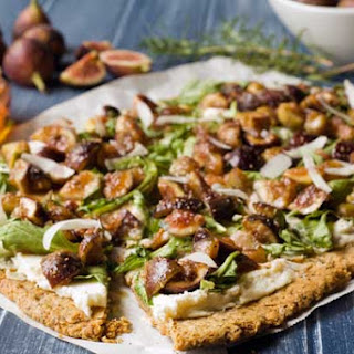 Gluten Free Honey Fig Ricotta Flatbread