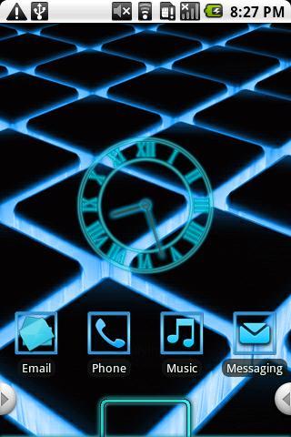Glow Theme Blue HD