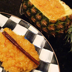 Sweet Pineapple Yellow Rice