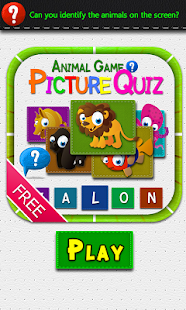 Animal Picture Quiz Game -Free - screenshot