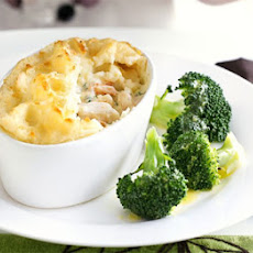 Fish Pies With Smoked Salmon, Prawns & Dill