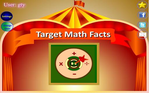 Target Math Facts