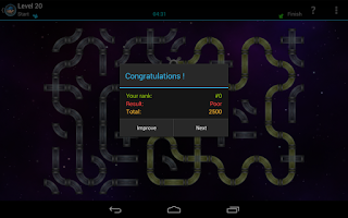 Screenshot of Plumberoid (Brain Game Puzzle)