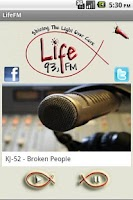 Screenshot of 93.1 LifeFm Cork
