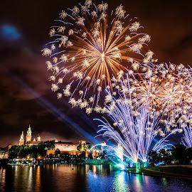 Wianki Festival 2014 by Michael Wiejowski - City,  Street & Park  Skylines ( wianki, europe, polska, krakow, festival, travel, poland )