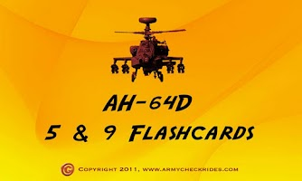 Screenshot of AH-64D Apache 5 & 9 Flashcards