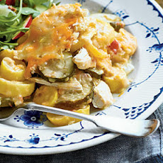 Chicken-and-Squash Casserole
