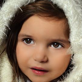 Greek Girl by Julian Markov - Babies & Children Child Portraits
