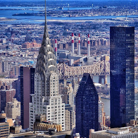 by Jose Figueiredo - City,  Street & Park  Skylines ( buildings, empire state building, new york city )