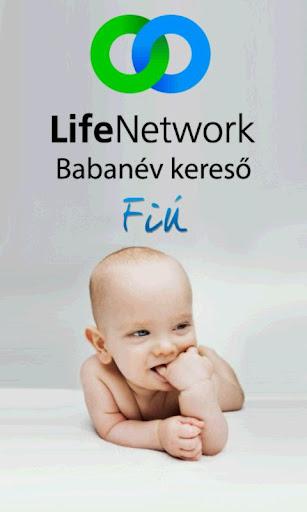 Babanév Kereső Fiú