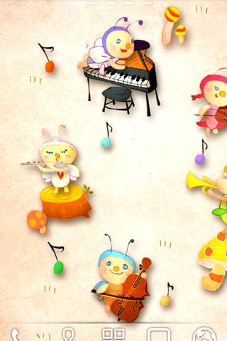 Autumn Musical Band ライブ壁紙Trial
