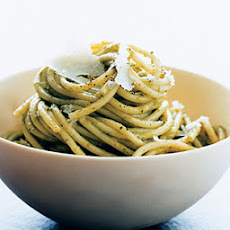 Spaghetti with Scallion Sauce