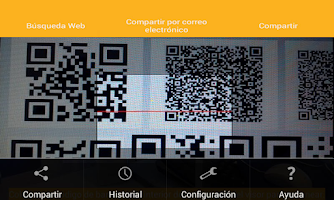Screenshot of QR Barcode Premium Gold