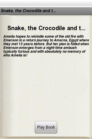 The Snake the Crocodile and