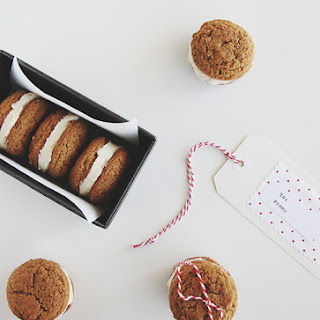 Ginger Snap Whoopie Pies