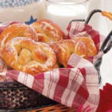 Soft Giant Pretzels