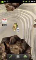 Screenshot of 3D Car Racing Rocky Landscape