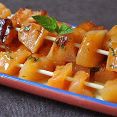 Skewered Cantaloupe