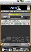 Screenshot of Webtic Prenotazioni Cinema