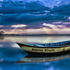 * Blue of Cengklik * by Ari Sarasto - Transportation Boats