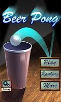 Screenshot of Beer Pong