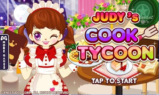 Judy's Cook Tycoon-Salon Game