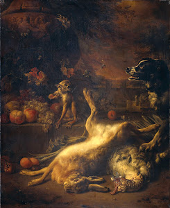 RIJKS: Jan Weenix: painting 1704