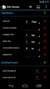 Shop with Recipes II - screenshot