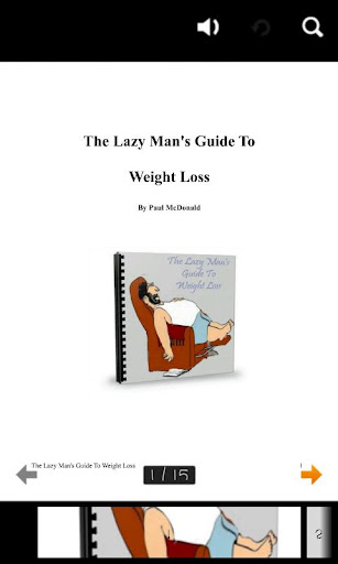 The Lazy Man GuideToWeightLoss