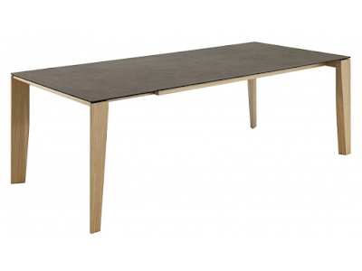 acheter table en c ramique rallonge clooney kingersheim chez crozatier dilengo. Black Bedroom Furniture Sets. Home Design Ideas
