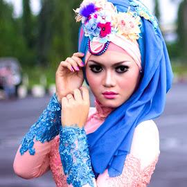 fashion hijab by Fendi Hermawan - People Fashion