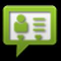 vCard SMS icon