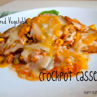 Layered Vegetable Crockpot Casserole