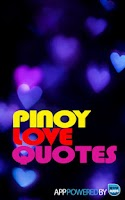 Screenshot of Pinoy Love Quotes