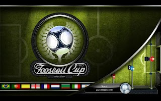 Screenshot of Foosball Cup