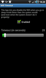 Wifi Timeout - screenshot