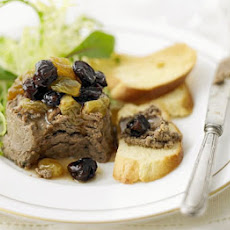 Chicken Liver Parfait With Sultanas & Raisins