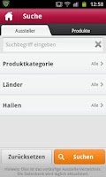 Screenshot of ProWein App